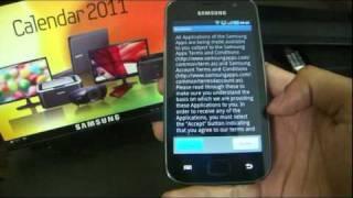 Samsung Galaxy SL I9003: TouchWiz 3.0