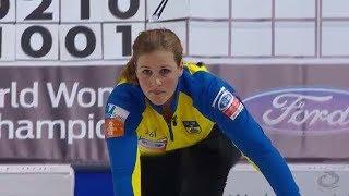 2016世界女子カーリング選手権 -予選リーグ第7戦- 日本 vs スウェーデン