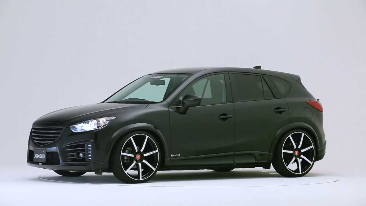 mazda cx 5 front bumper version body kit topline youtube. Black Bedroom Furniture Sets. Home Design Ideas