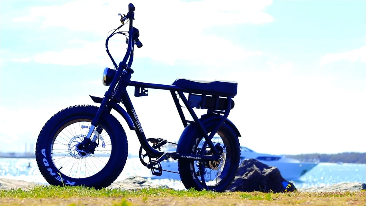 Ace The Vintage Fat Tyre Motor E Bike Youtube