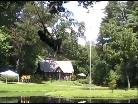 Camp Anglewood - Rope Swing