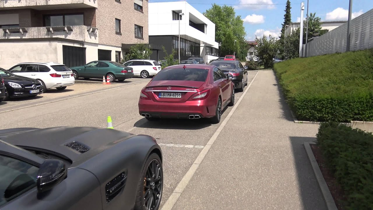 4k] AMG headquarters in Affalterbach, Germany a quick visit with ...