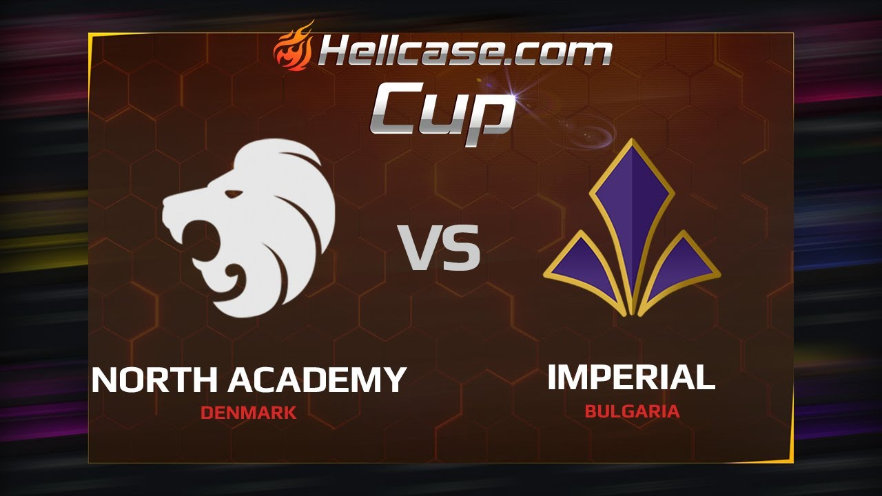 [EN] North Academy vs Imperial, map 2 cache, Hellcase Cup Season 5