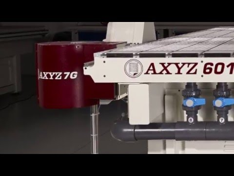 AXYZ CNC Routers Auto Tool Change Option