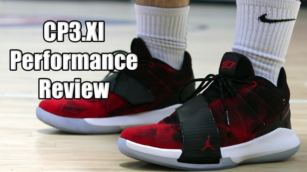 Jordan CP3.XI (11) Performance Review - YouTube c0dfc991f