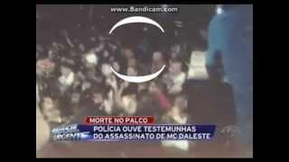 Assassino de MC Daleste aparece em video mostrado na Band