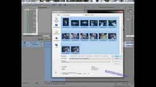 Sony Vegas 15. Как создать клип из фотографий (автоматически)(Изучаешь видеомонтаж или ищешь где заказать видеомонтаж? Тогда тебе сюда http://mastervideo.org Продолжаем Sony Vegas..., 2013-01-09T06:34:37.000Z)