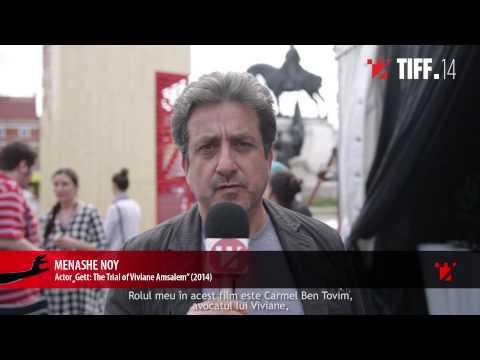 Menashe Noy @ TIFF 2015