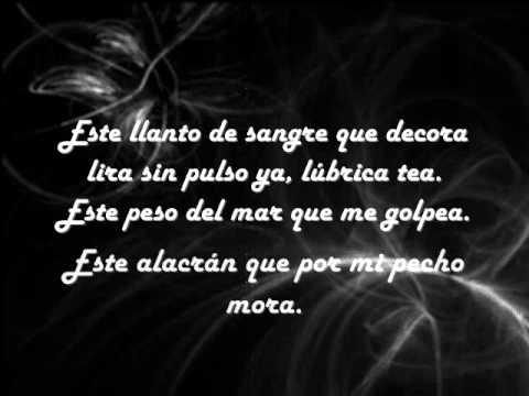 Federico García Lorca Poesía Llagas De Amor Texto Español Es