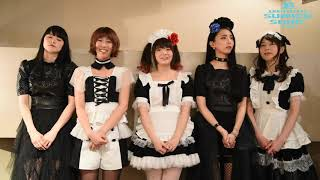 BAND-MAID message for SUMMER SONIC 2019
