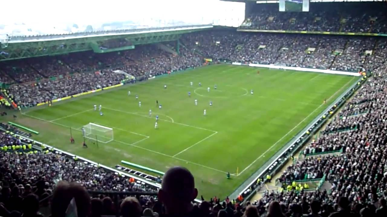 The Best I Just Cant Get Enough Ever From Celtic Park On Old Firms Day 3 0 20 02 2011