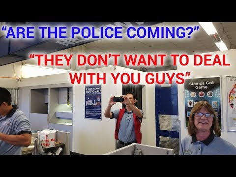 "BURBANK POST OFFICE with NASTY NATHANIAL ""THE POLICE DON'T WANT TO DEAL WITH YOU GUYS"""
