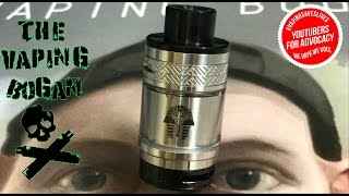 Pharaoh RTA from Rip Trippers & Digiflavor + Wicking Tutorial - The Vaping Bogan