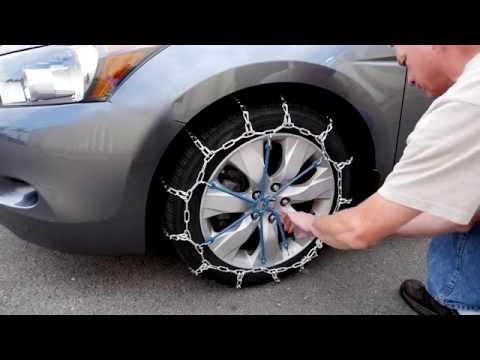 Peerless Quik Grip Tire Chain Installation