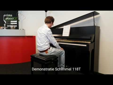 Schimmel 118T Demo Debussy
