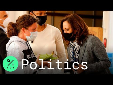 Harris Tours Small Businesses on Campaign Trip to Flint, Michigan