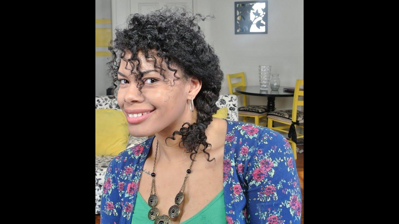 Chica Fashion: Soft Side Braid Tutorial Using a Twist out ...