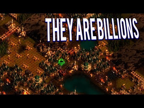 THEY ARE BILLIONS - BILLIONS OF ZOMBIES SURROUNDED 130 DAYS BRUTAL POPULATION 130% DIFFICULTY