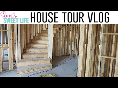 Download Youtube: THAT STAIRCASE THO! FRAMED HOUSE TOUR | Building Our Dream Home Vlog Ep. 6