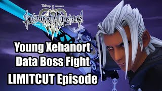 KINGDOM HEARTS 3 RE MIND DLC Young Xehanort Data Boss Fight Gameplay (LIMITCUT Episode)