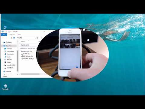How To Transfer Pictures/Videos From iPhone 5/5S/5C To Windows PC