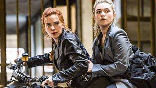 BLACK WIDOW Movie Clip - Budapest High-Speed Chase Scene (2021)