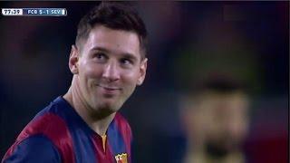 Barcelona vs Sevilla 5-1 All Goals & Highlights 22.11.2014 Messi Show
