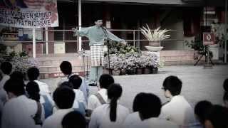 sajak musuh dadah semperna bulan penutupan hari kemerdekaan malaysia di SMKTBM
