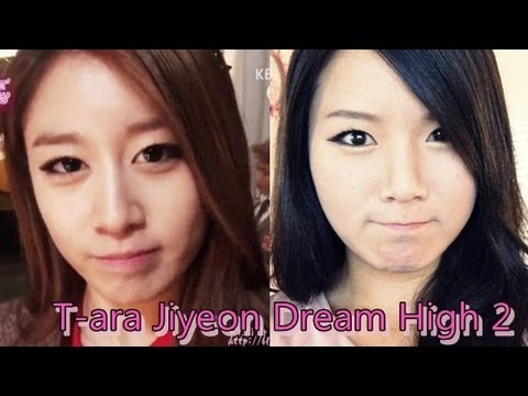 T-ara Jiyeon Dream high 2 Inspired Makeup Tutorial - YouTube