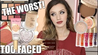 BEST & WORST OF TOO FACED | Don