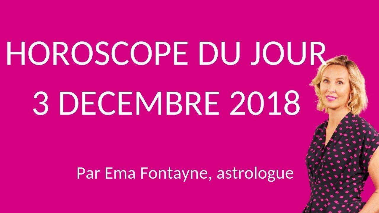 0f7f988a1a6343 Horoscope du jour gratuit du 3 Décembre 2018 par Astrocenter - YouTube