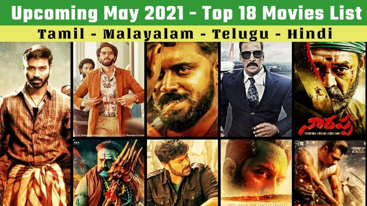 20 Upcoming May 20 Movies List   May Month Release Dates on OTT, Theatres   Tamil & Other Languages