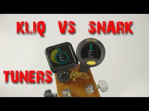 Kliq UberTuner VS Snark SN-8 Tuners