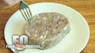 Remy Eats Head Cheese (food Oddities - Www.foododdities.com)