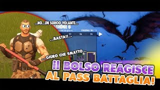 THE BOLSO REACTS TO THE NEW BATTLE PASS (SEASON 6)... ENDED BADLY FORTNITE ITA