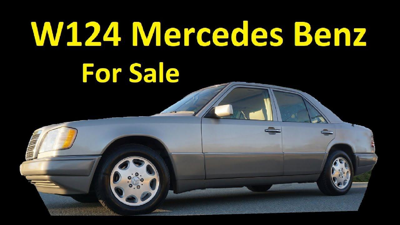 BUY A W124 MERCEDES E320 ~ VIDEO REVIEW 53K MI FOR SALE