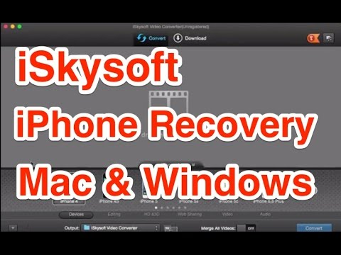 iSkysoft iPhone Data Recovery for Mac and Windows Review  YouTube