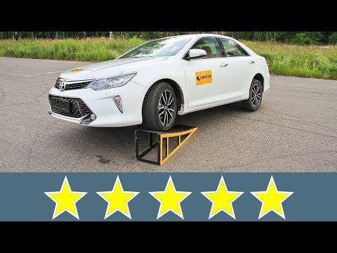 Toyota Camry 2017 Жесткость кузова