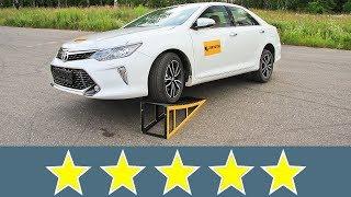 Toyota Camry 2017 Жесткость кузова смотреть