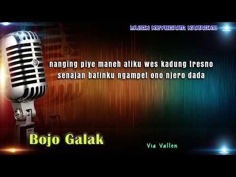 Via Vallen - Bojo Galak Karaoke Tanpa Vokal