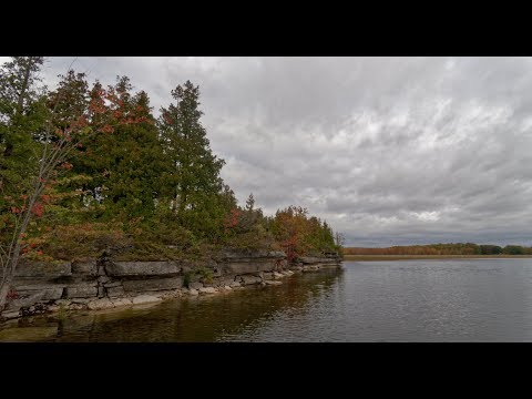 Kawartha Lakes - Fishing in the Fall