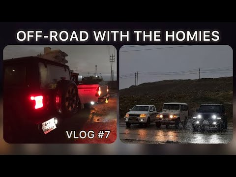 an awesome OFF-ROAD with the homies / VLOG #7