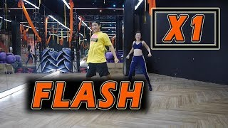 [KPOP] X1 - FLASH | Dance Fitness By Golfy | Give Me Five Thailand | เต้นออกกำลังกายท่าง่ายๆ