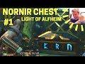 God of War: Nornir Alfheim Rune Chest in the Light of Alfheim (Temple)