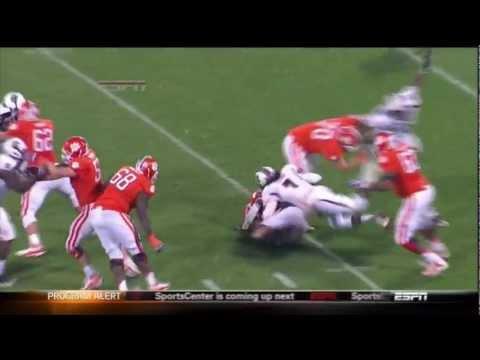 2012 USC vs Clemson - Jadeveon Clowney - All 4.5 Sacks