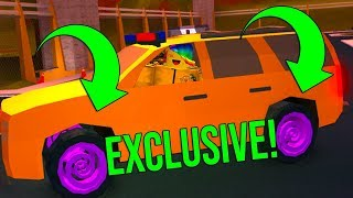 UNLOCKING THE NEW *LIMITED* HYPNO WHEELS! (Roblox Jailbreak)