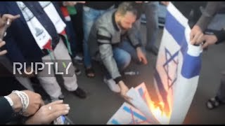 Morocco: Thousands descend on Rabat to protest Trump's Jerusalem move
