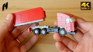 How to Build Lego Truck - Container...