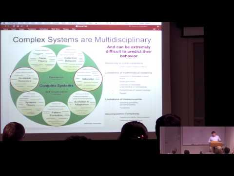 CAM Colloquium - David Slater: Complexity Science in the Public Interest