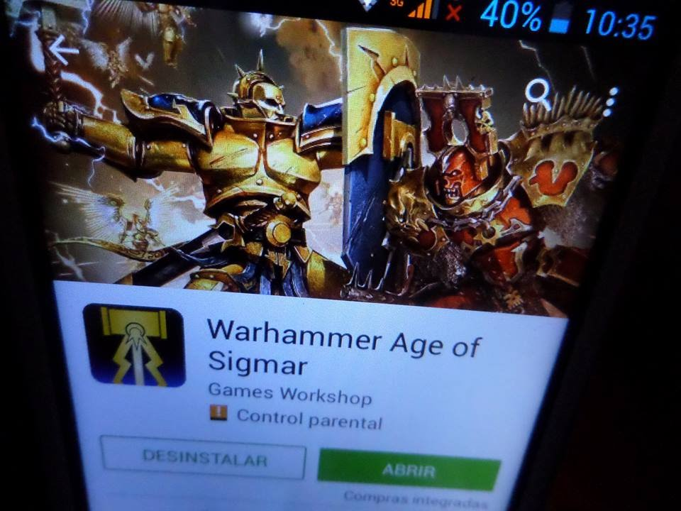 APP ANDROID AGE OF SIGMAR WARHAMMER GAMES-WORKSHOP - YouTube